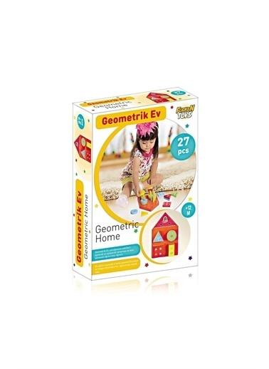 Furkan Toys Furkan Toys Bul Tak Geometrik Ev Eğitici ve Geliştirici Oyuncak Renkli